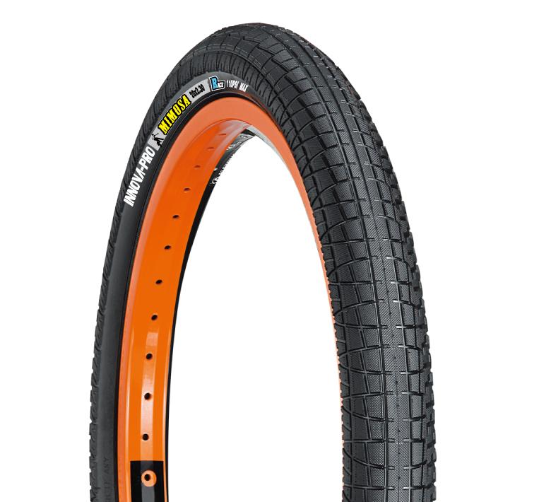 "INNOVA FAT BMX BIKE TIRES 20x2.3/"" BLACK white wall Bike tire S/&M SE GT PRIMO new"